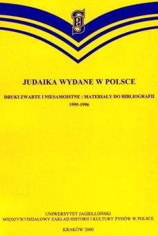 Judaika_wydane_w_Polsce._Druki_zwarte_i_niesamiostne_1995_6