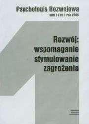 Psychologia_Rozw._t.11_nr_1_2006._Rozwoj__wspomaganie_