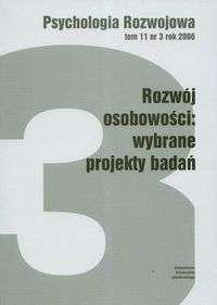 Psychologia_Rozw._t.11_nr_3_2006._Rozwoj_osobowosci...