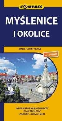 Myslenice_i_okolice._Mapa_turystyczne