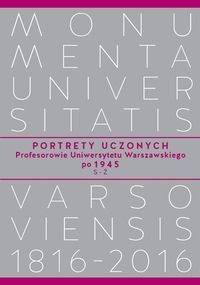 Portrety_uczonych._Profesorowie_Uniwersytetu_Warszawskiego_po_1945__S_Z