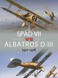 SPAD_VII_vs_Albatros_D_III_1917_1918