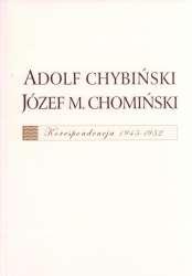 Adolf_Chybinski___Jozef_M._Chominski._Korespondencja_1945_1952