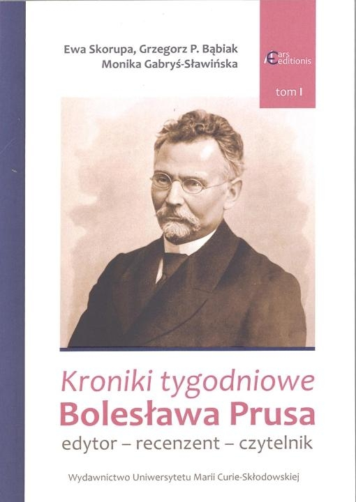Kroniki_tygodniowe_Boleslawa_Prusa._Edytor___recenzent___czytelnik