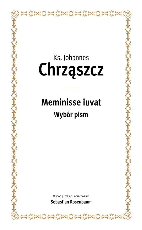 Meminisse_iuvat._Wybor_pism