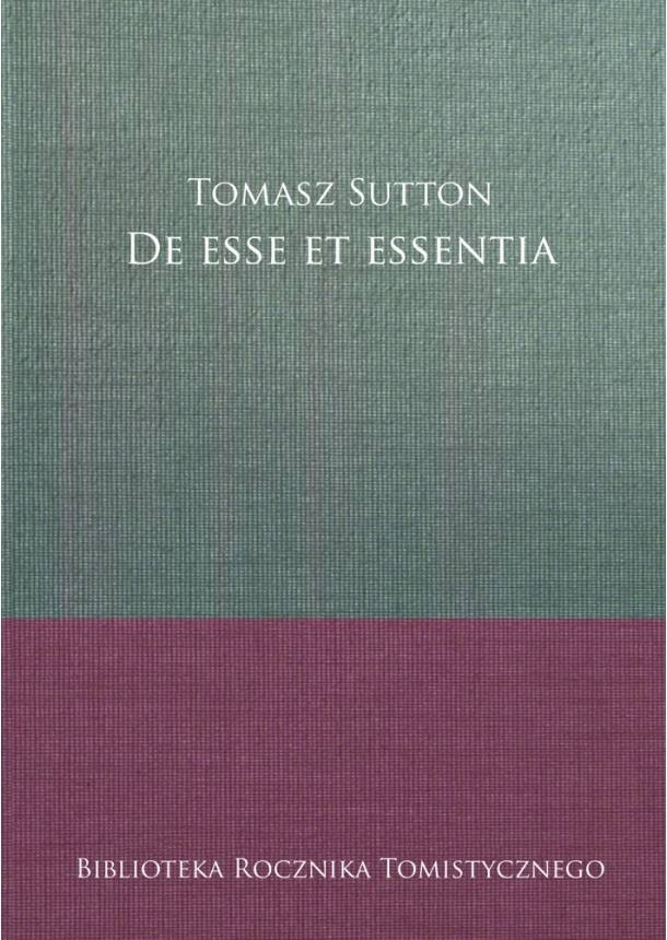 De_esse_et_essentia