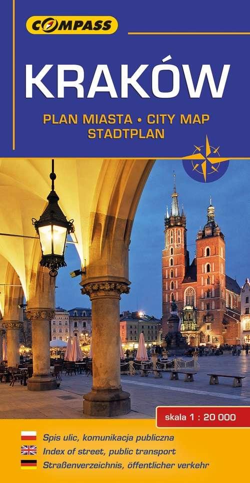 Krakow._Plan_miasta