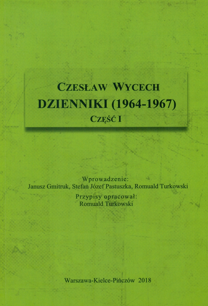 Dzienniki__1964_1967___cz._I._Czeslaw_Wycech