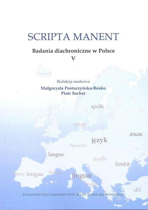 Scripta_manent._Badania_diachroniczne_w_Polsce_V