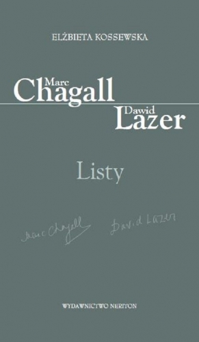 Listy._Marc_Chagall_Dawid_Lazer