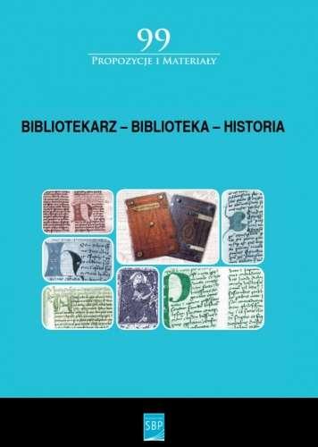 Bibliotekarz___biblioteka___historia