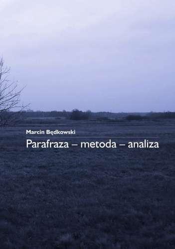 Parafraza___metoda___analiza