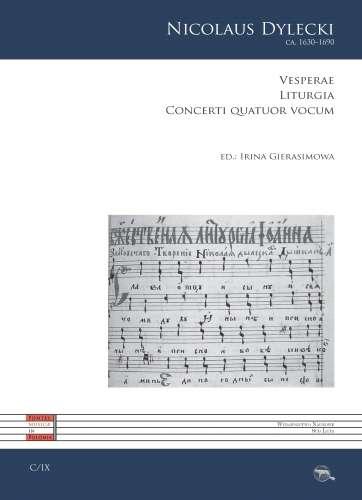 Vesperae._Liturgia._Concerti_quatuor_vocum