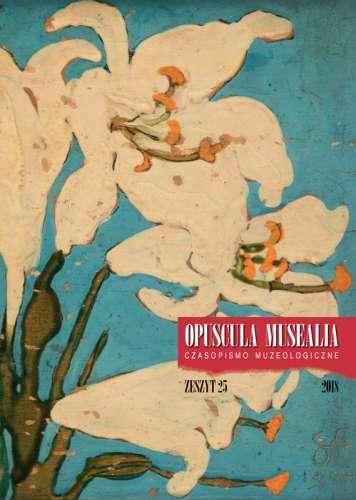 Opuscula_Musealia_z.25._Czasopismo_muzeologiczne