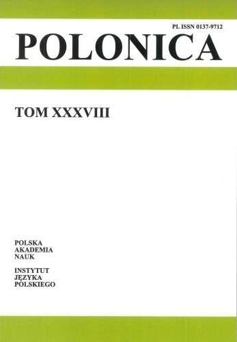 Polonica_t._XXXIX