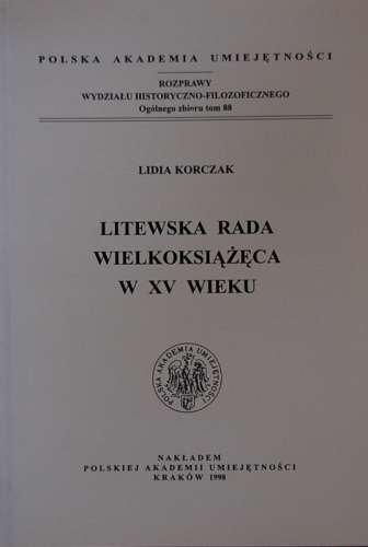 Litewska_Rada_Wielkoksiazeca_w_XV_wieku