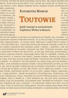 Toutowie._Jezyk_i_pamiec_w_ustanawianiu_wspolnoty_Wislan_w_Banacie