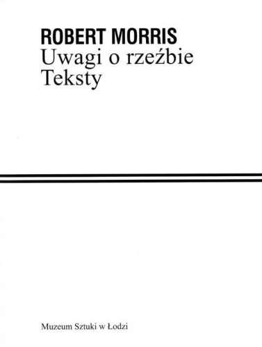 Uwagi_o_rzezbie._Teksty