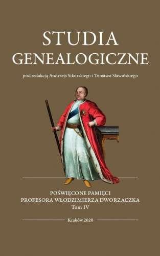 Studia_genealogiczne__t._IV_Poswiecone_pamieci_prof._Wlodzimierza_Dworzaczka