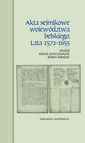 Akta_sejmikowe_wojewodztwa_belskiego._Lata_1572_1655
