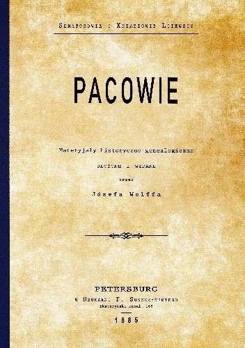 Pacowie._Materyjaly_historyczno_genealogiczne._Reprint