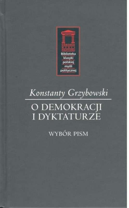 O_demokracji_i_dyktaturze._Wybor_pism