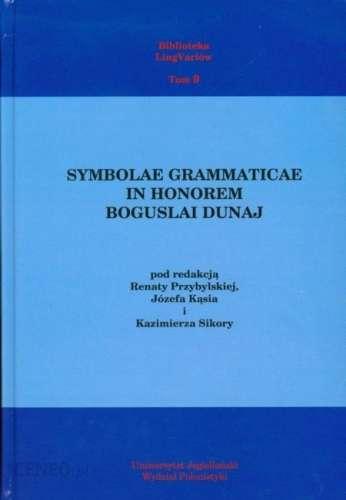 Symbolae_grammaticae_in_honorem_Boguslai_Dunaj